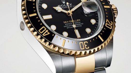 Rolex Replica Adds Gold to the Sea-Dweller