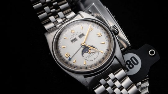 Replica Rolex Reference 6062 Full Calendar