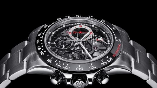 "New Skeletonized Fake Rolex Daytona Watch, ""La Barrichello"""