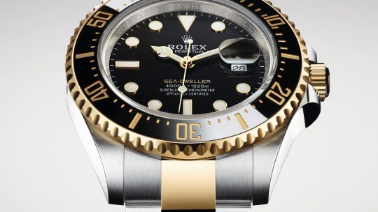 Rolex Replica Sea-Dweller 43mm Yellow Rolesor 126603