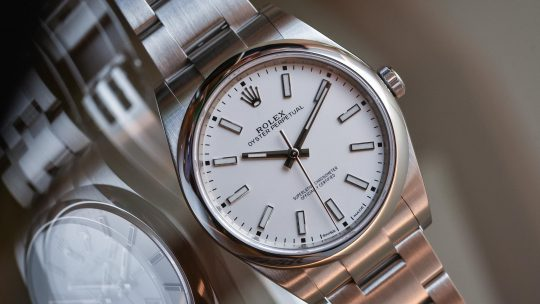 The New Rolex Oyster Perpetual 39 Replica with a White Dial