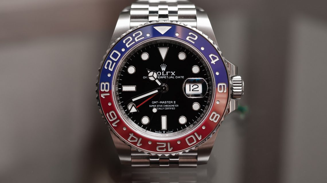 "Best Luxury Rolex GMT ""PEPSI"" 126710BLRO"