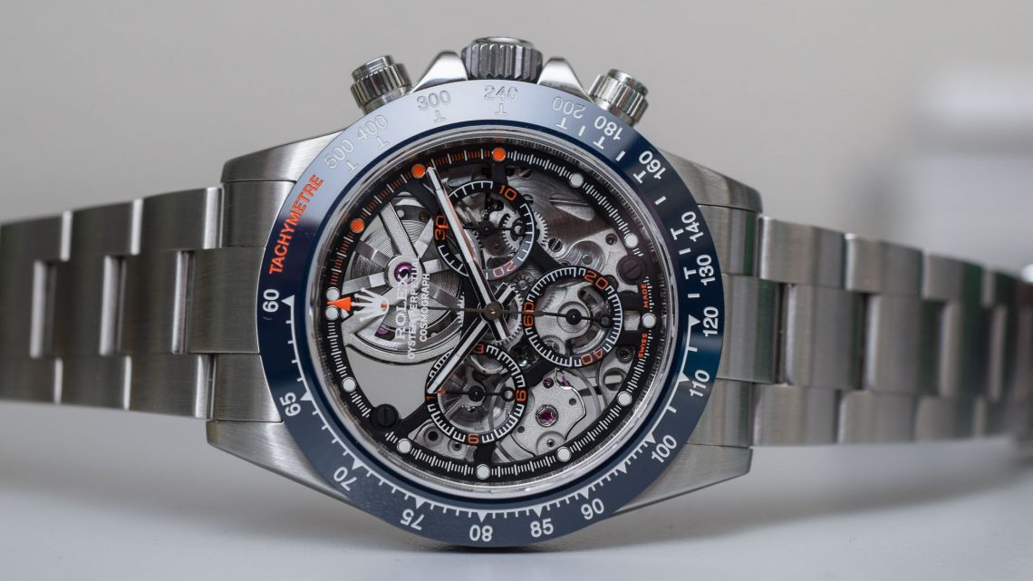 Skeletonized on the Rolex Daytona Replica Watches