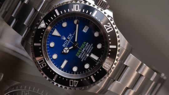 The Updated Rolex Deepsea Ref. 126660 with gradient D-blue dial