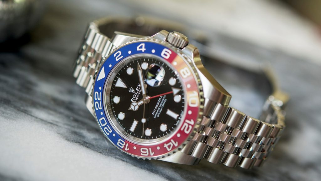 "Rolex GMT Master II ""Pepsi"" 126710 BLRO – Now in Steel"