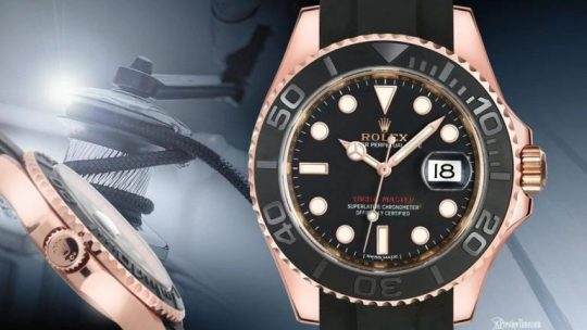 Swiss Made Perfect Rolex Yachtmaster 116655 Replica Watch